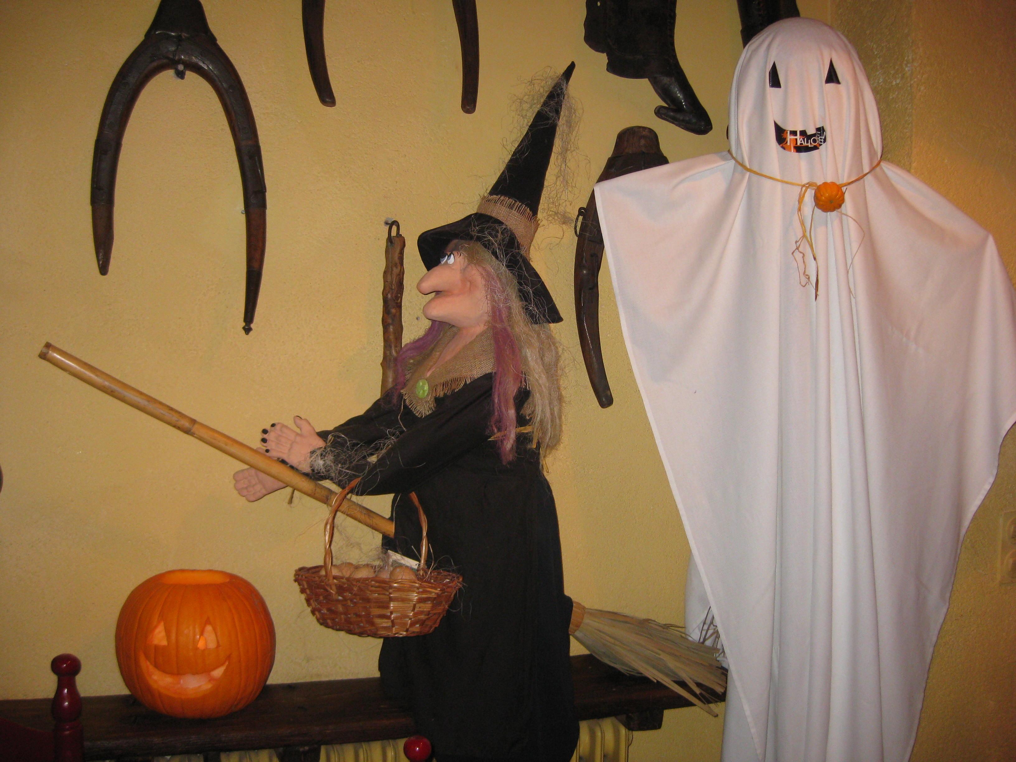 cocina en halloween
