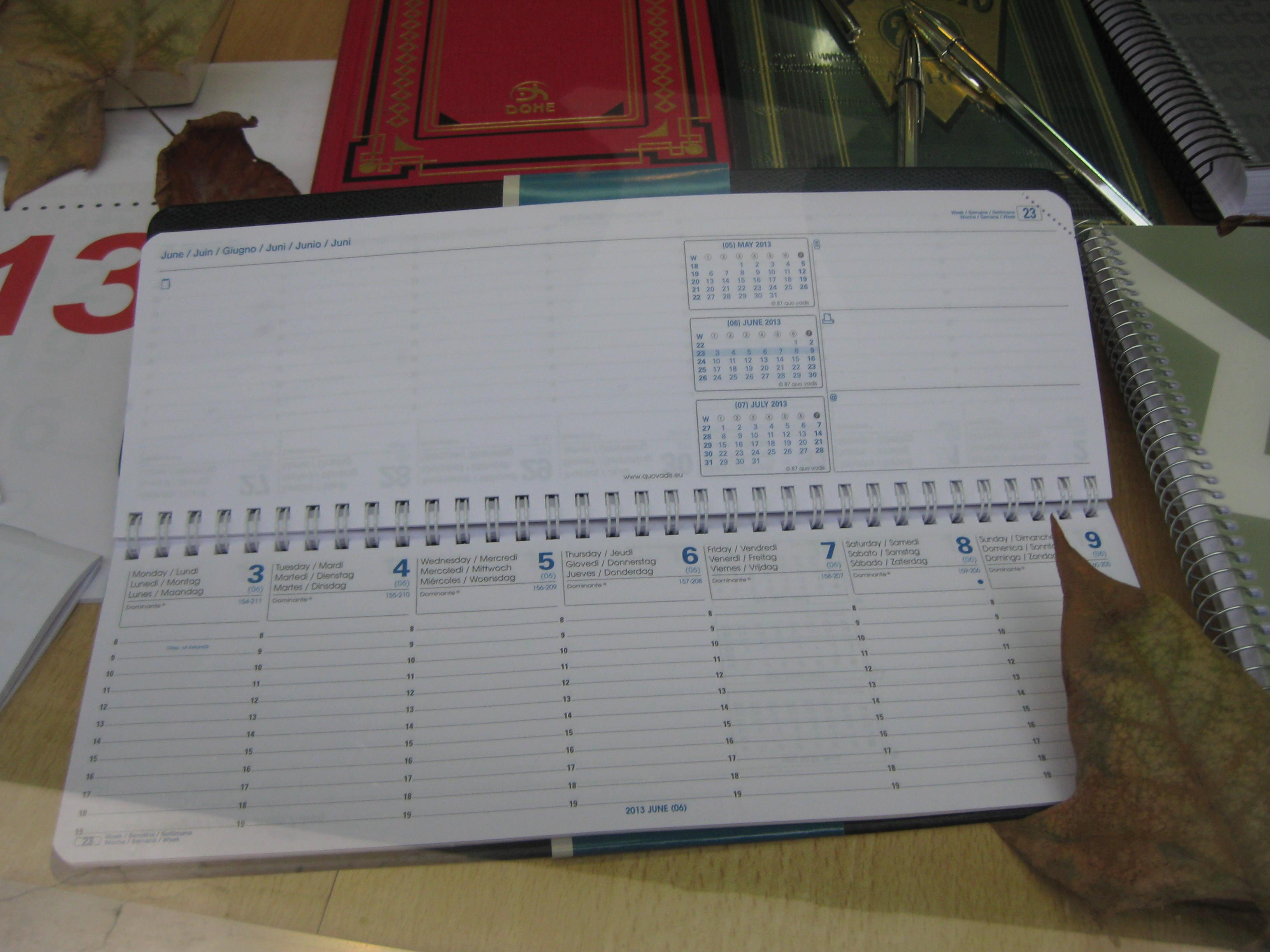 Agenda 2013 bis