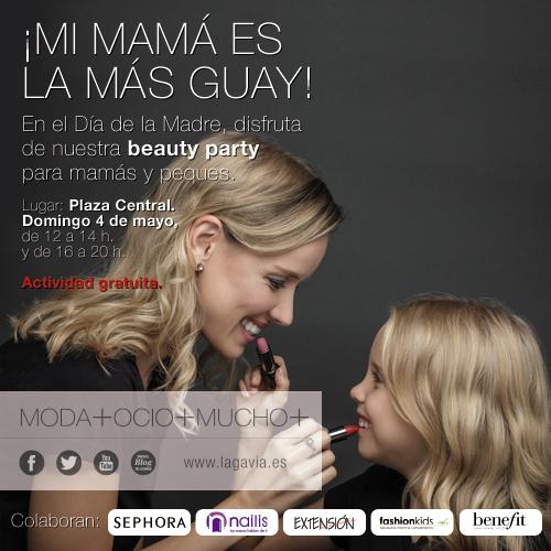 Cartel Día de la Madre_Mi mamá es la más Guay_CCLa Gavia