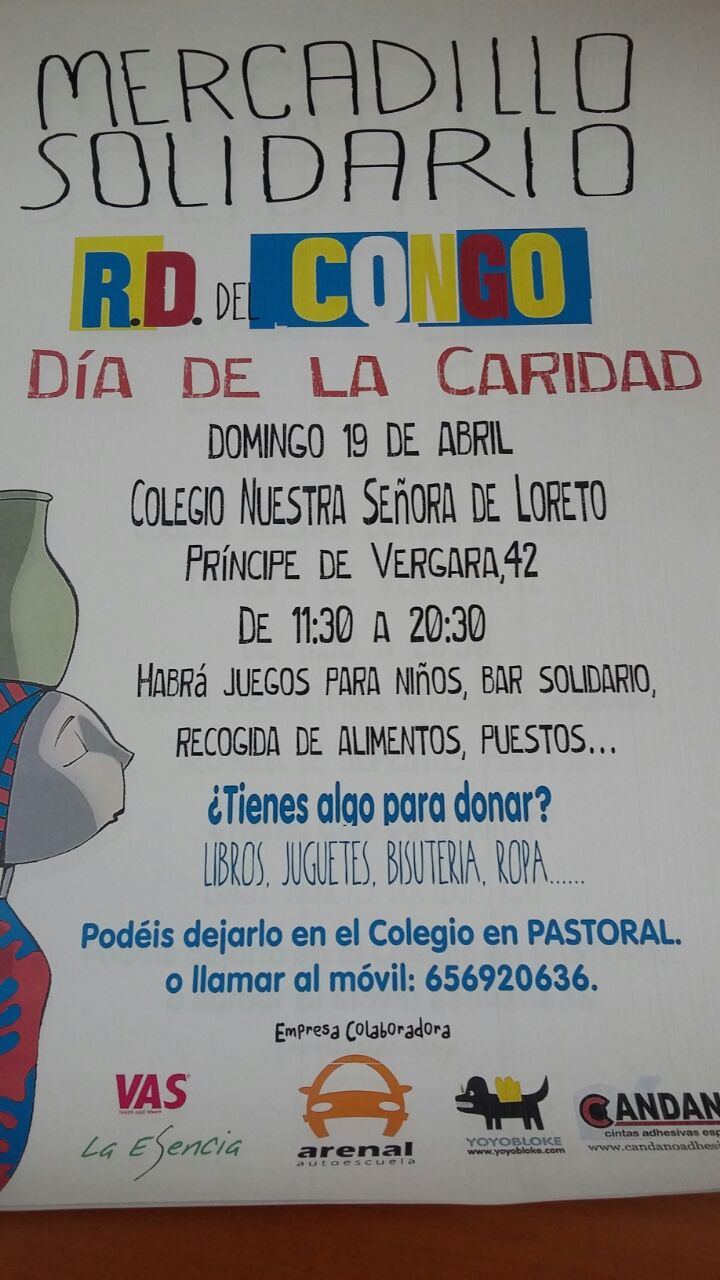 Mercadillo Solidario del Loreto