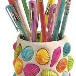 Bote lápices concha