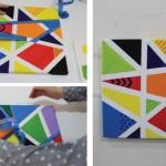 Pintando con cinta de pintor