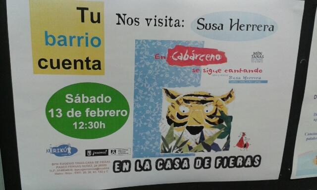Susa Herrera en Cabárcenos